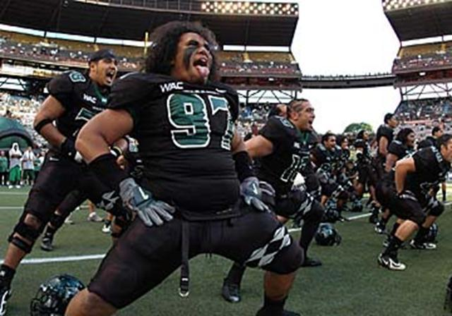 The newest tradition to make the list, The Haka was introduced to the team in 2006 by Tala Esera, who had performed it as a member of the Kahuku %u201CRed Raiders%u201D high school football team.