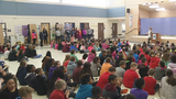Ridgley Elementary students welcomed back to class with gift