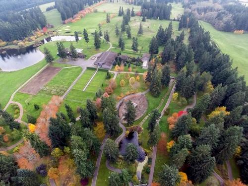 Misty Isle Farms in listed by Brad Vancour with Realogics Sotheby's. This is the most expensive property listed in Washington state on Zillow.com, as of this posting on May 3, 2017. More info at ownmistyislefarms.com. (Image: Cory Holland / Realogics Sotheby's).