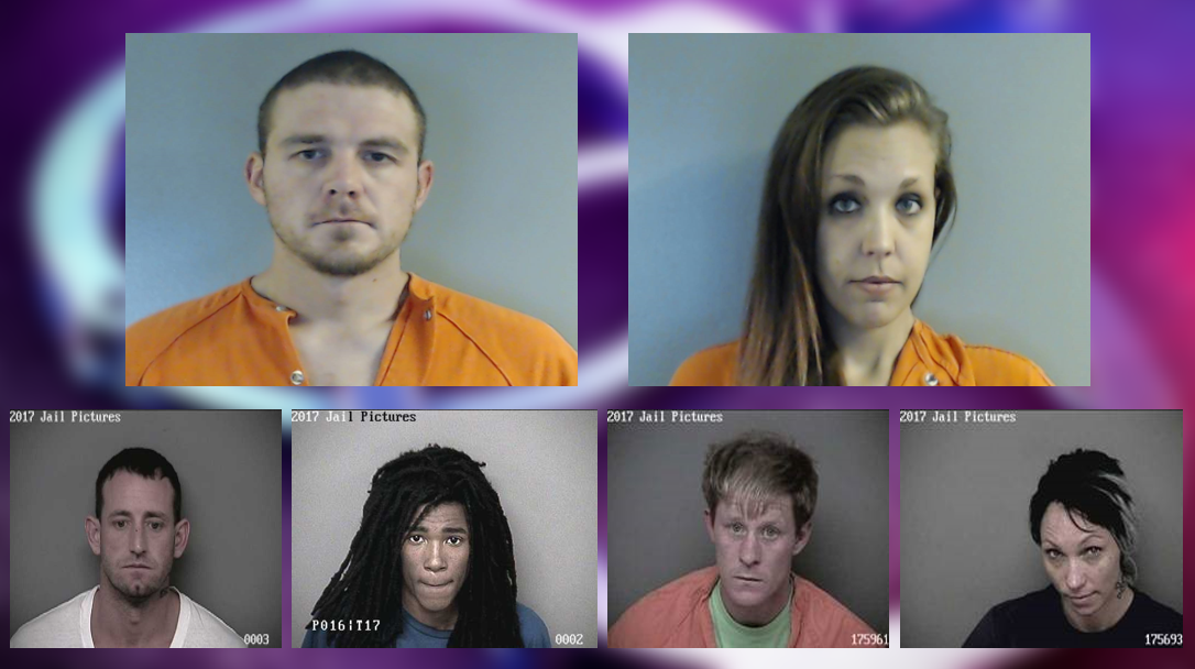 Several suspects were arrested in a multi-county drug trafficking investigation. (KRCG 13)<p></p>