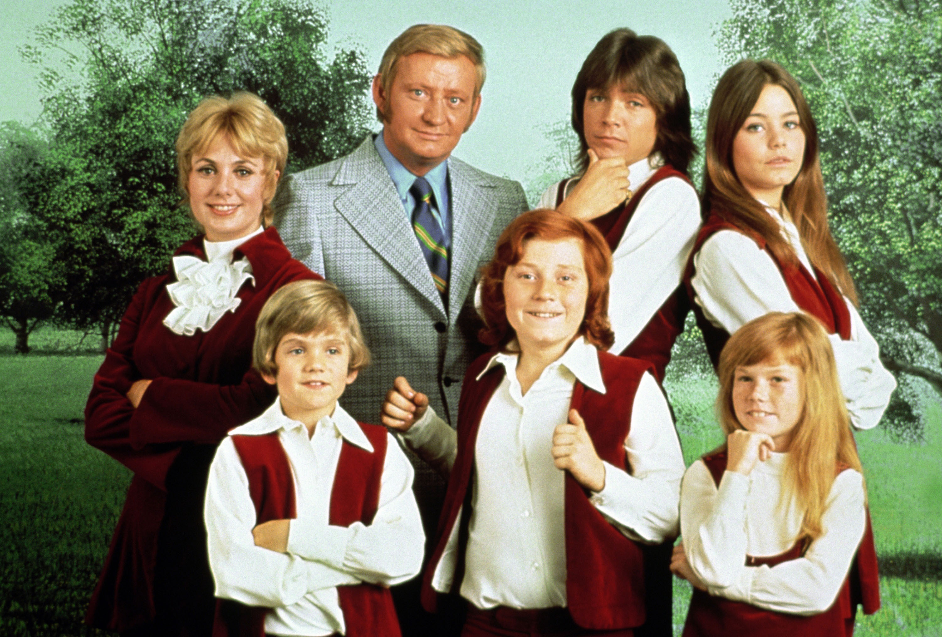 (top row) Shirley Jones, Dave Madden, David Cassidy, Susan Dey; (front row) Brian Forster, Danny Bonaduce, Suzanne Crough  The Partridge Family (ABC)  1970 - 1974  When: 13 Aug 1970 Credit: WENN.com  **WENN does not claim any ownership including but not limited to Copyright or License in the attached material. Fees charged by WENN are for WENN's services only, and do not, nor are they intended to, convey to the user any ownership of Copyright or License in the material. By publishing this material you expressly agree to indemnify and to hold WENN and its directors, shareholders and employees harmless from any loss, claims, damages, demands, expenses (including legal fees), or any causes of action or allegation against WENN arising out of or connected in any way with publication of the material.**