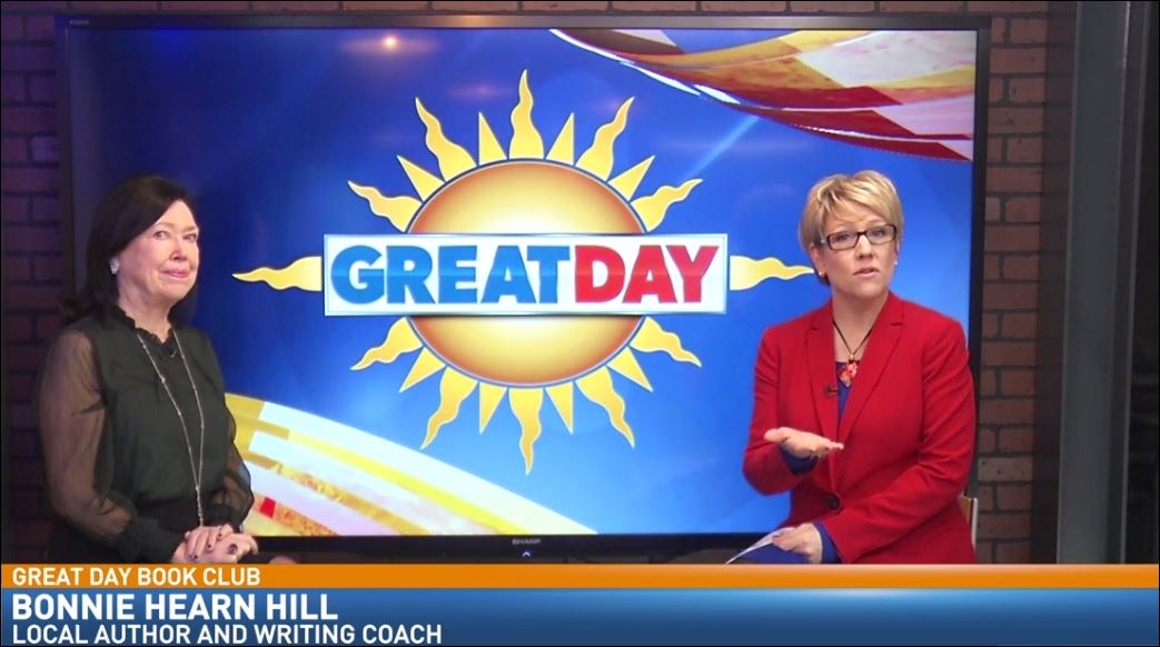 Local author, Bonnie Hearn Hill, visited Great Day to talk about books you will love.