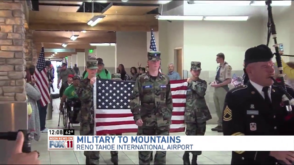 Nevada Veterans Get Sendoff In Reno From Military To The