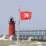 South Haven beach safety flags return Monday