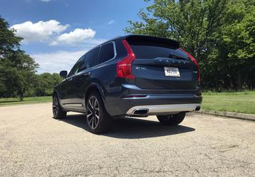 2019 Volvo XC90: A three-row SUV steeped in technology and safety