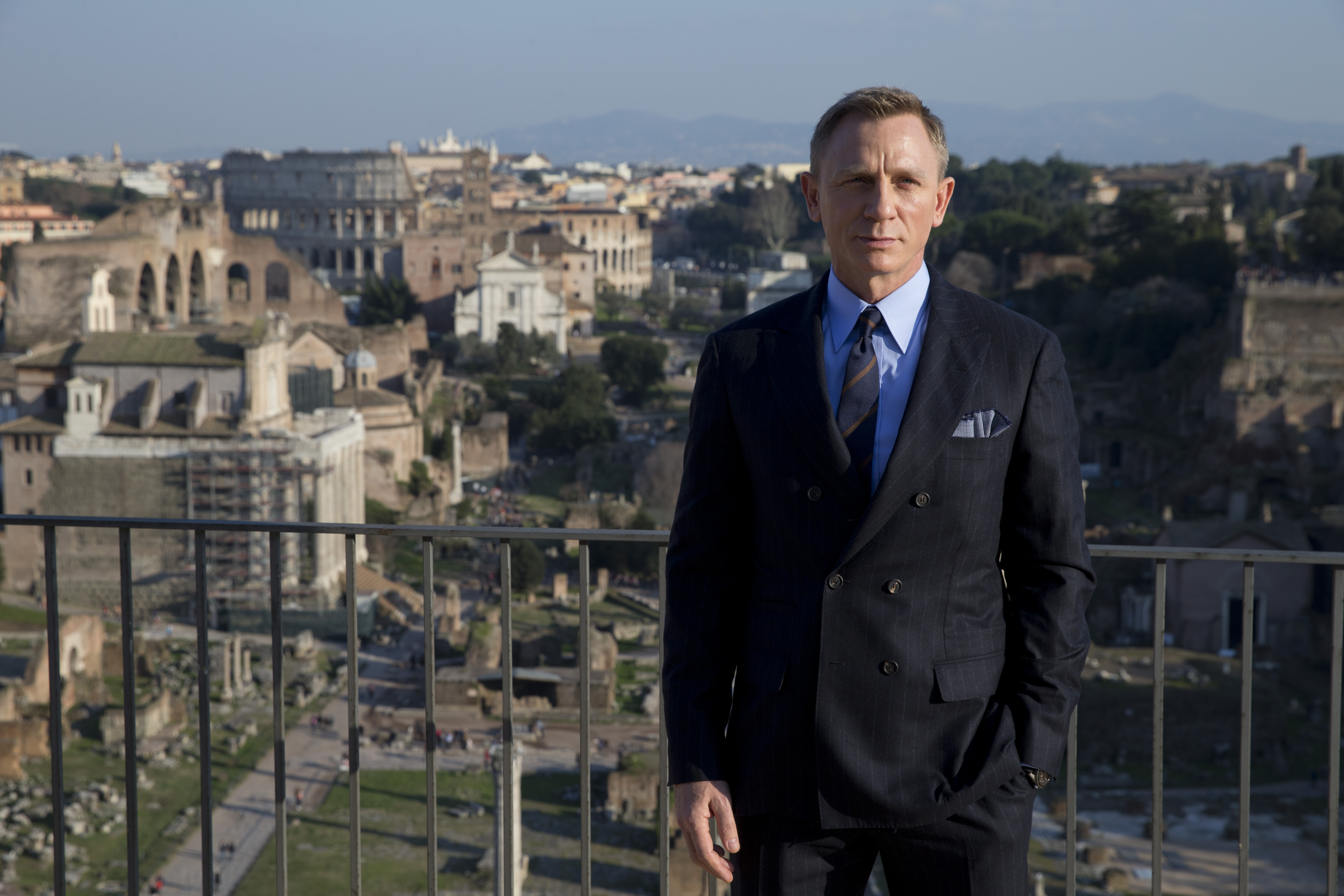 "FILE - In this Wednesday Feb. 18, 2015 file photo, actor Daniel Craig poses during a photo call for the latest James Bond movie 'Spectre', in Rome. Actor Daniel Craig has said he wants to Â?move onÂ? from the James Bond franchise and that for now, he would rather ""slash my wrists"" than do another Bond movie. (AP Photo/Andrew Medichini, File)"