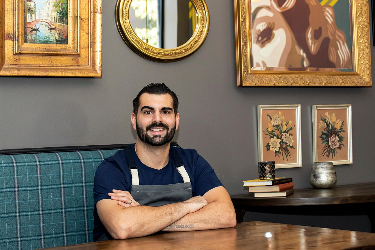 <p>Owner and Chef Anthony Sitek / Image: Allison McAdams{&nbsp;}// Published: 11.14.19</p>