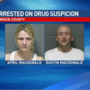 Two arrested on drug suspicion charges