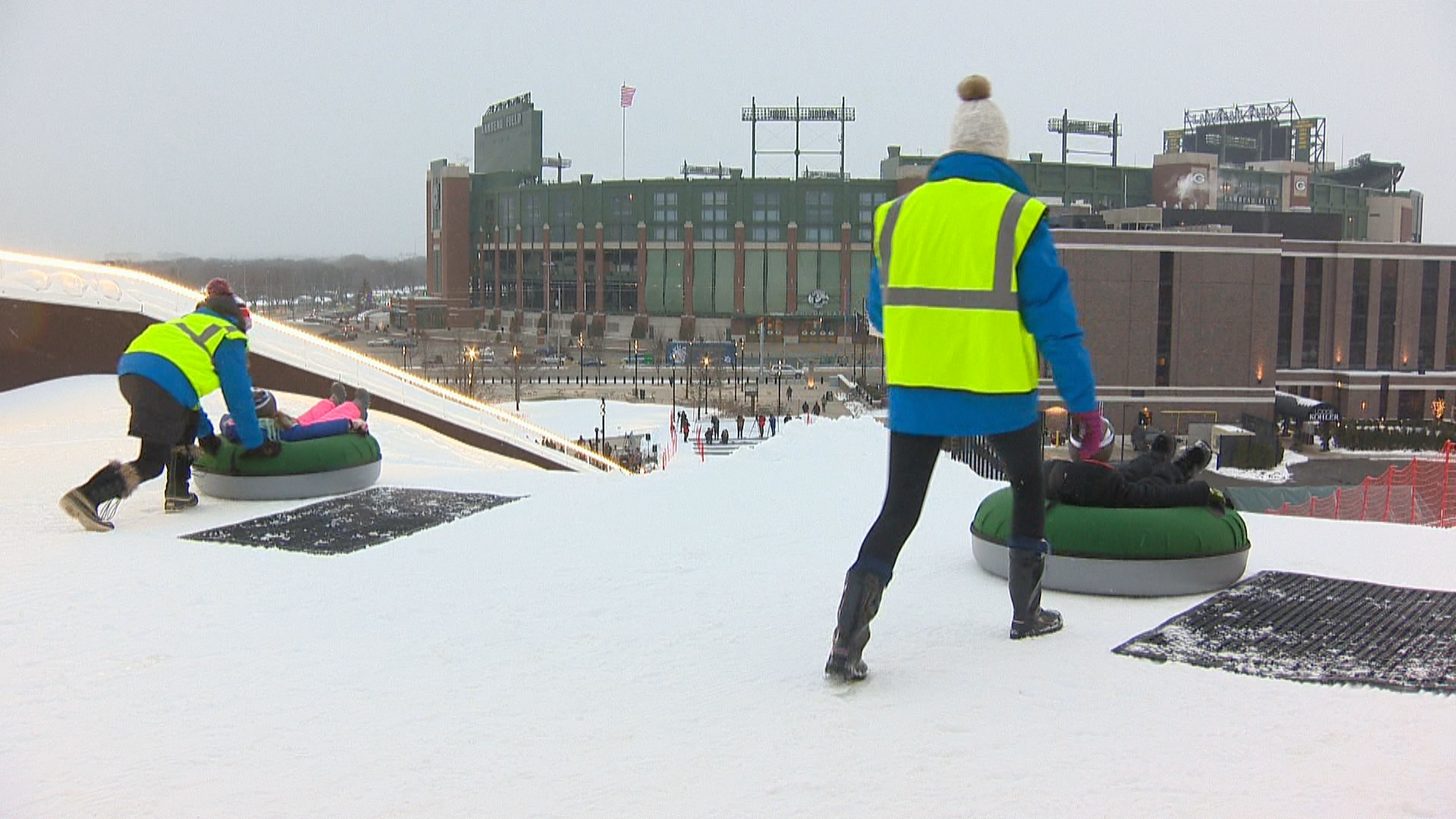 Ariens Hill holds grand-opening, December 21, 2017. (WLUK)