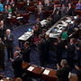 Sen. John McCain arrives on Senate floor to standing ovation following cancer diagnosis