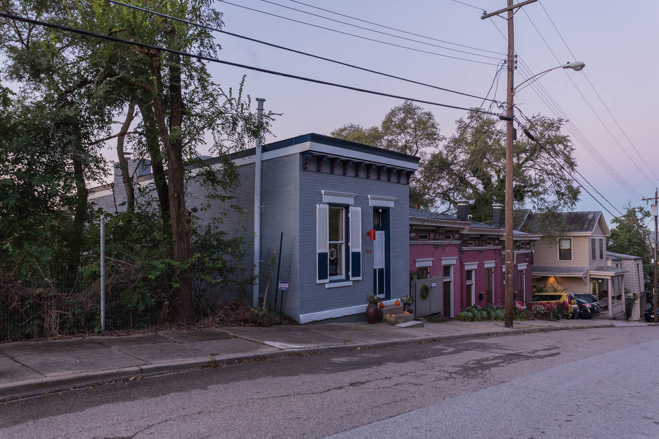 Tiny buildings are all around Cincinnati. The trick is finding them amid the hulking skyscrapers and high-rises in the area. Here's a sampling. ADDRESS: 529 Boal Street / Image: Mike Menke // Published: 11.6.17
