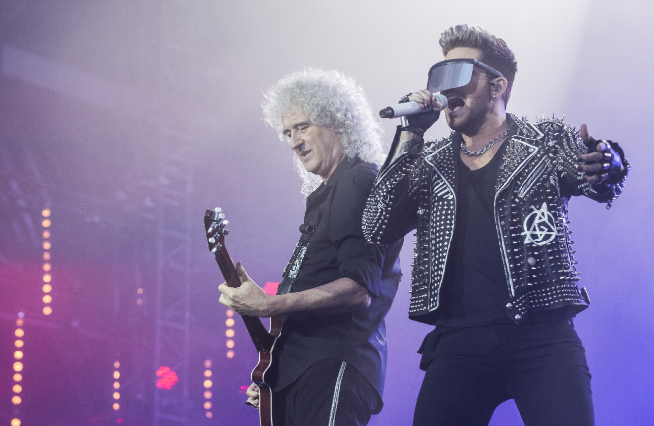 Queen + Adam Lambert will rock North America this summer on a 25-city arena tour. They'll hit Verizon Center on July 31. (Image: Dray/WENN.com)