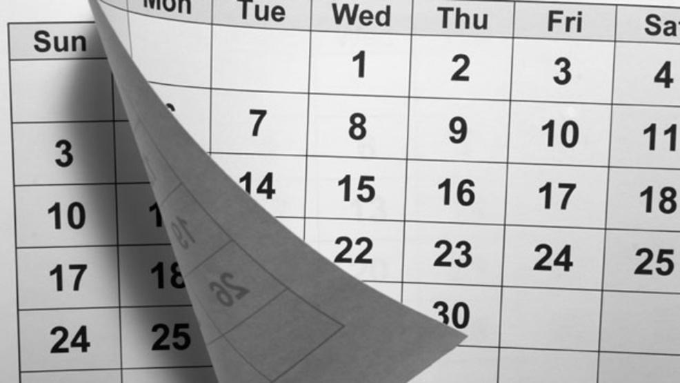 Pitt County Announces Make Up Dates Wcti