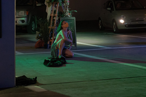 "Drive-in theater performance ""Through Yonder Window,"" plays at The Gateway mall parking garage and has been extended. (Photo: Courtesy The Gateway)"
