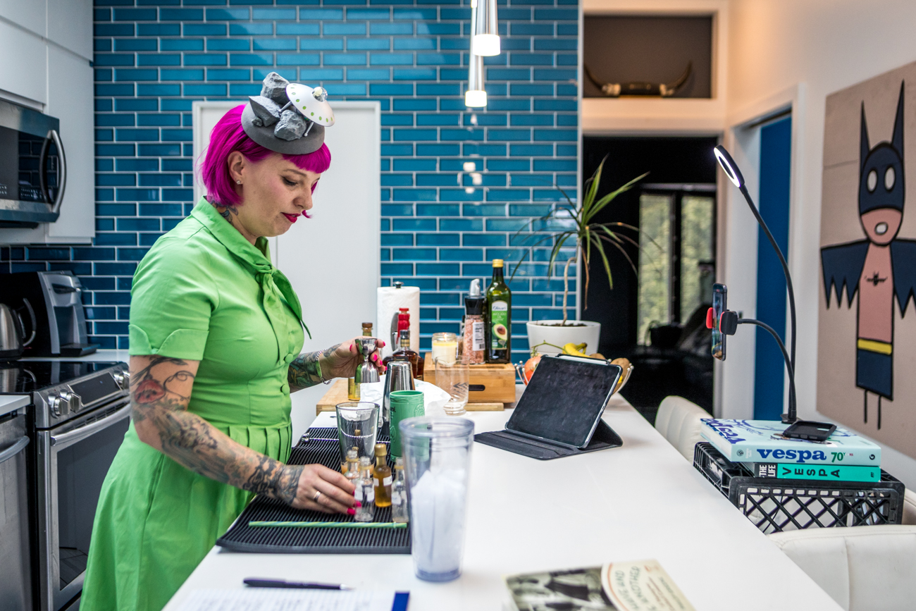 "Japp's owner and celebrated local mixologist Molly Wellmann demonstrates how to make classic cocktails each week through her video series, 5 O'Clocktails. She records herself at home every Wednesday sharing drink recipes as well as interesting bits of history behind them.{&nbsp;} Kits prepped with the ingredients to assemble the drinks can be picked up in advance from Japp's at 1134 Main Street in Over-the-Rhine. Tune in to{&nbsp;}<a  href=""https://www.facebook.com/mollywellmann"" target=""_blank"" title=""https://www.facebook.com/mollywellmann"">Molly's Facebook</a>{&nbsp;}on Wednesdays around 5 PM to catch the videos. / Image: Catherine Viox // Published: 10.20.20"