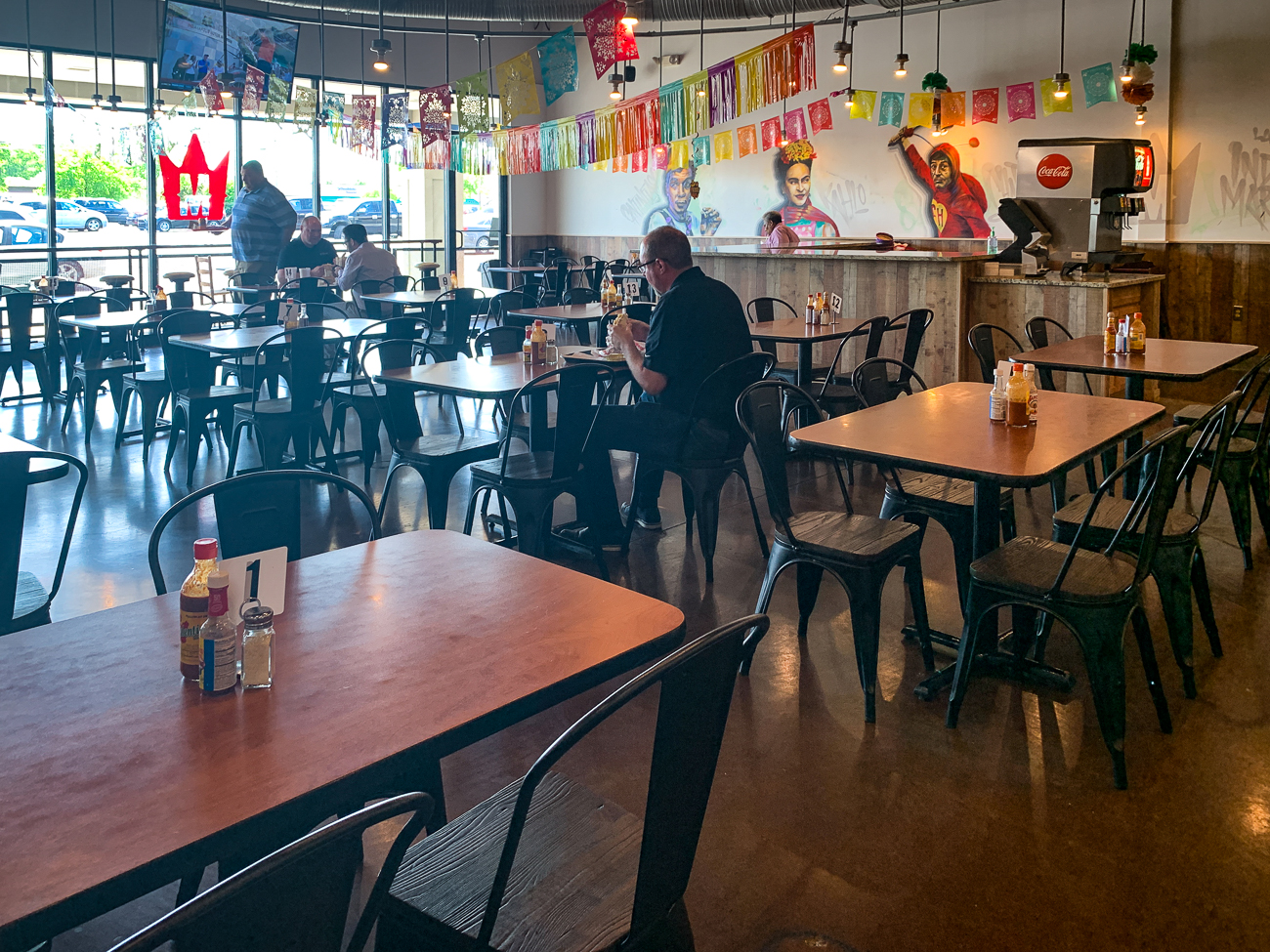 PLACE: Taqueria El Monarca / ADDRESS: 11449 Princeton Pike (Springdale) / DESCRIPTION: This is the most seemingly commercial spot on the list. It's mere blocks away from Tri-County Mall, and it's set up like Chipotle, with the fast-casual vibe and the counter service. Don't let all that fool you though; these tacos are as authentic as any other place on this list. I got the carnitas tacos and the beef tacos. If you're up in the northern part of Greater Cincinnati, and you need your fix, this is the place to go. / Image: Shawn Braley // Published: 5.28.19