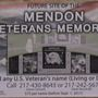 Mendon breaks ground on veteran memorial