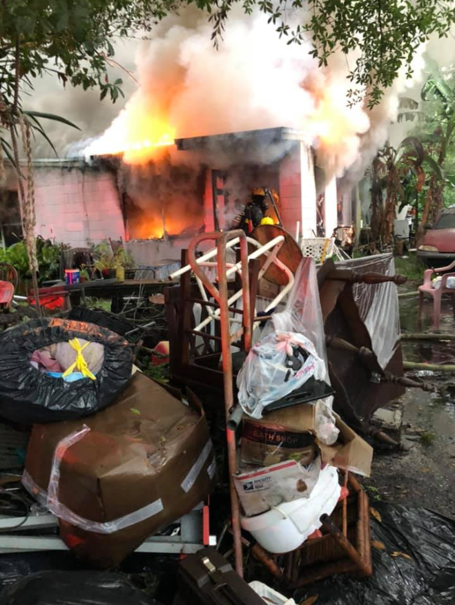 Woman killed in house fire in Fort Pierce{ }(St. Lucie County Fire District)