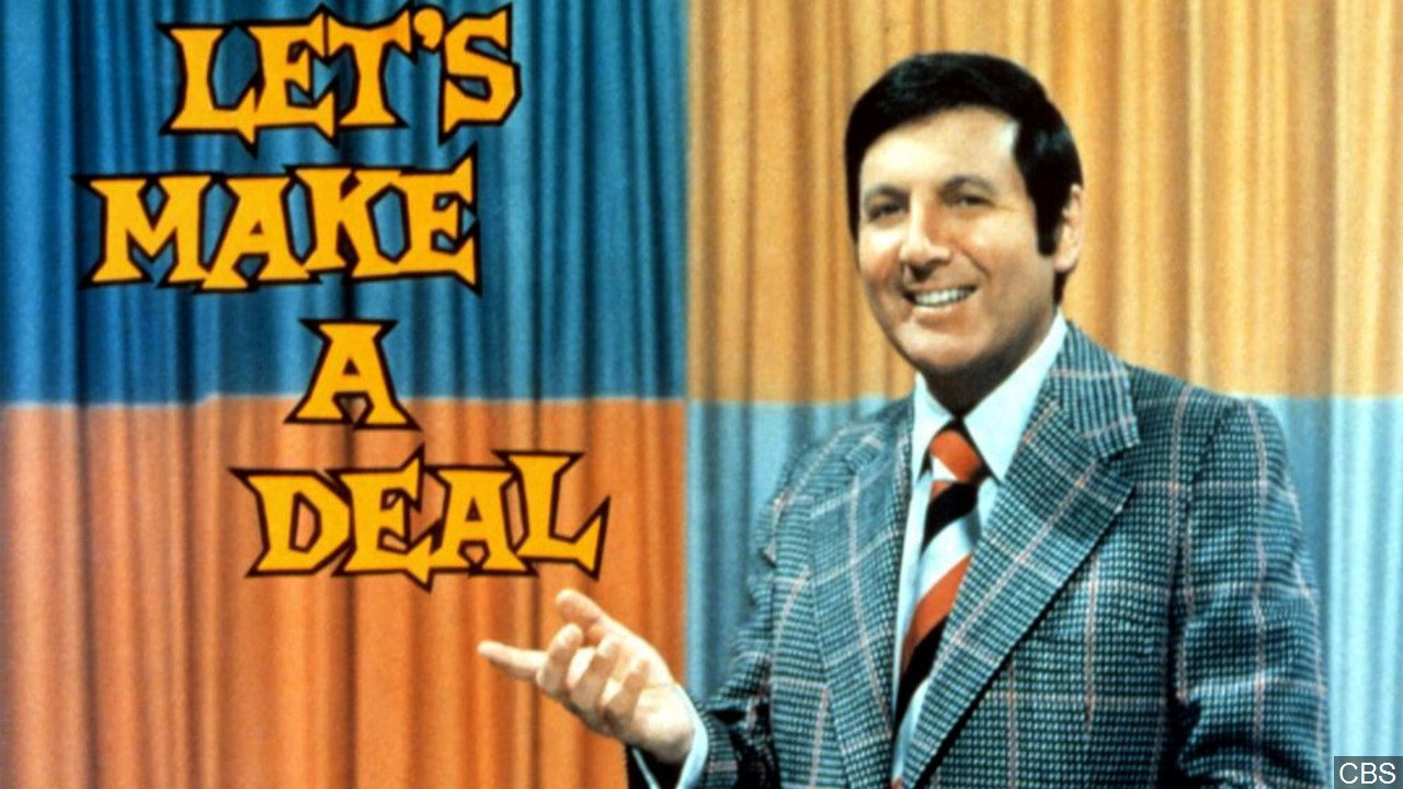 TV game show host Monty Hall died Sept. 30, 2017. He was 96. (CBS/MGN Online)<p></p>