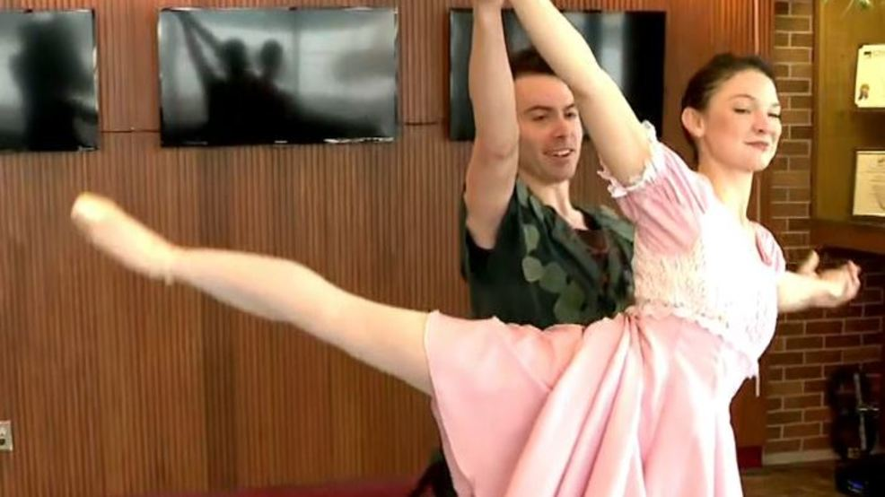 Peter Pan coming to Syracuse City Ballet
