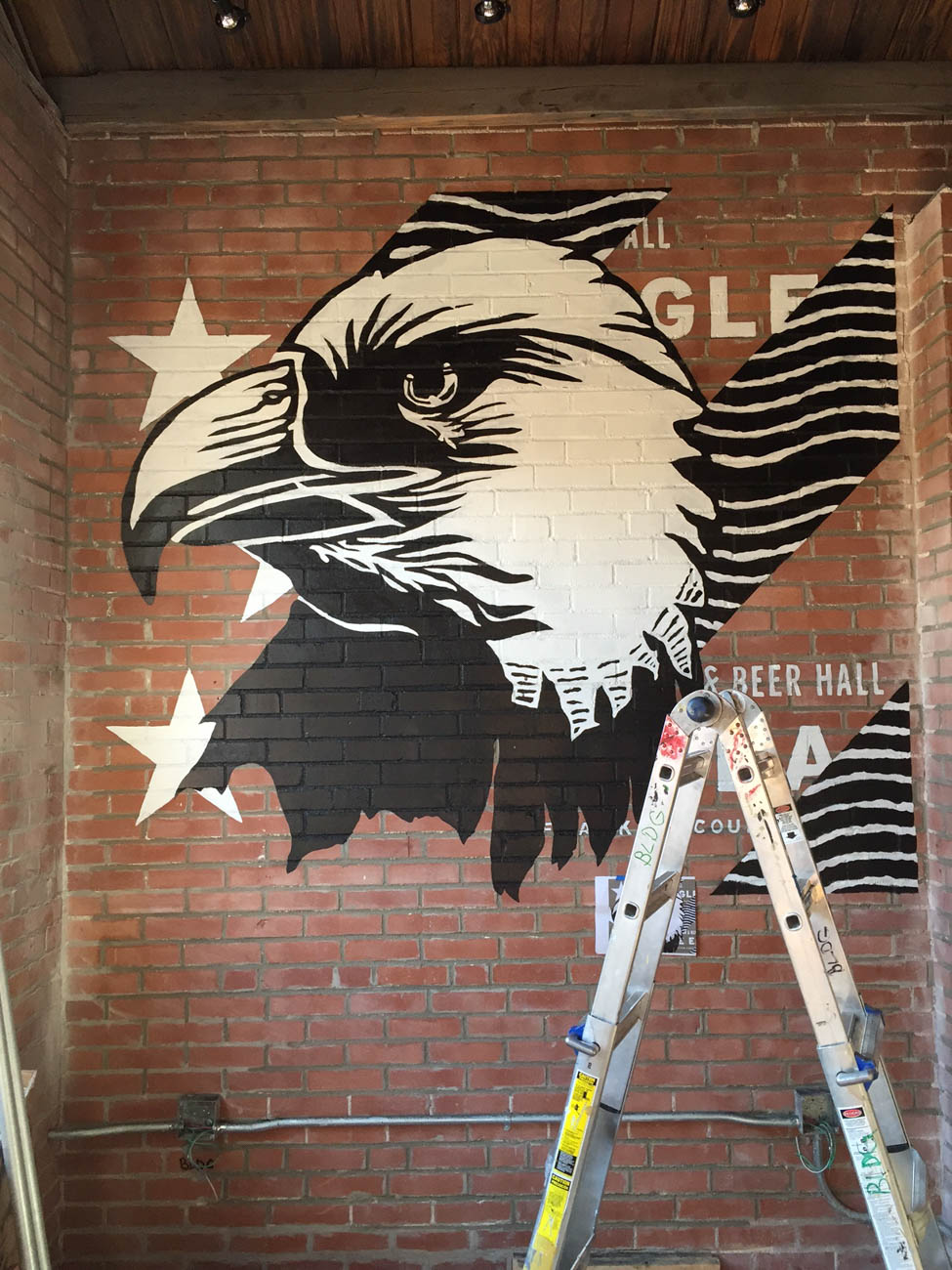 An interior mural at The Eagle in Over-the-Rhine / Image courtesy of BLDG Refuge // Published: 9.24.19