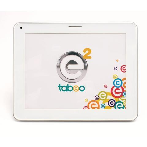 Tabeo e2 8 inch kids tablet. Available in silver, pink, and bluePrice: $149.99