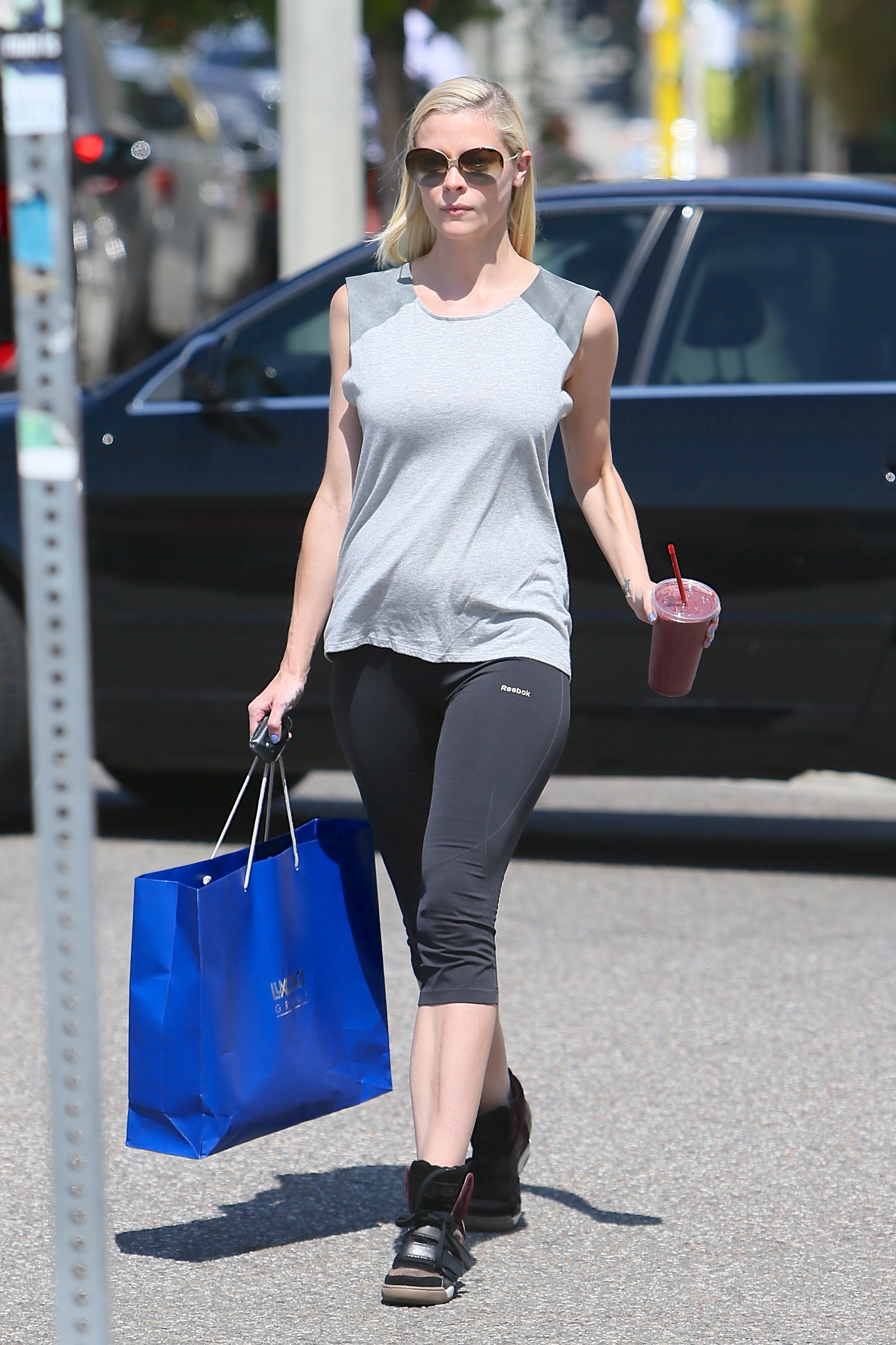 A pregnant Jaime King is seen arriving and leaving her pilates class at Winsor Pilates  Featuring: Jaime King Where: Los Angeles, CA, United States When: 17 Jun 2013 Credit: Michael Wright/WENN.com