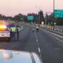 Suspect arrested in death of man ejected from car window on I-405