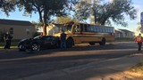 Amarillo ISD bus driver taken to hospital following wreck