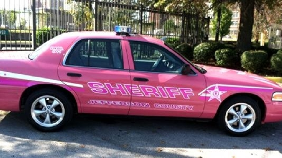 Jefferson County Sheriff S Office Unveils Pink Patrol Car For