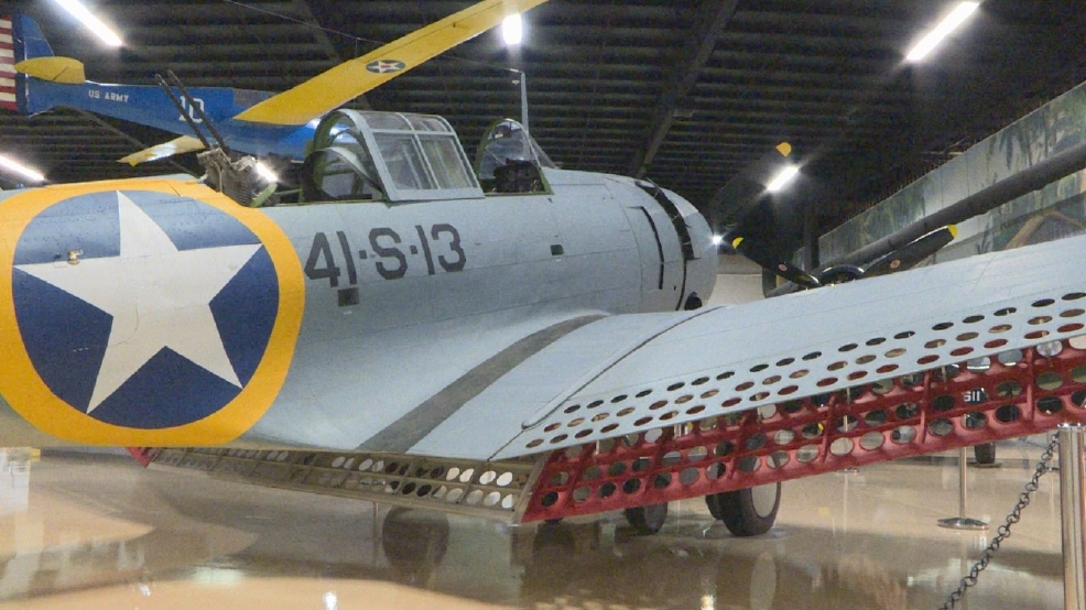 Restored World War II plane recovered from Lake Michigan
