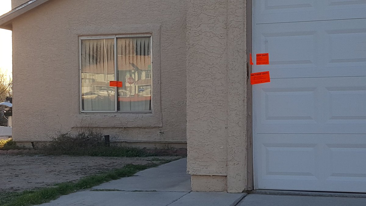 Coroner: Woman found dead in her northeast valley home was strangled. 2/13/17 (Christy Wilcox | KSNV)