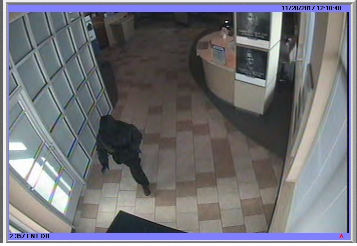 A suspect is being sought in an Independence Township bank robbery. (Photo: Oakland County Sheriff's Office)