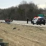 Coroner makes removal from scene of car fire, crash on 675