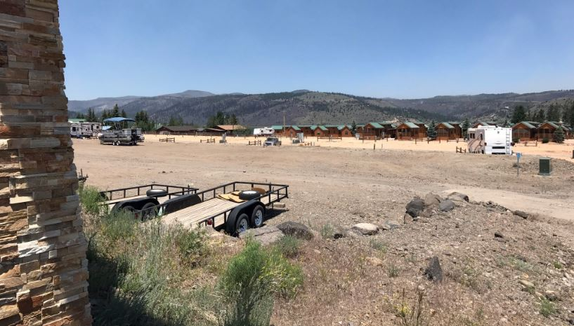 Utah fire devastating for adventure resort now sitting empty (Photo: Dan Rascon / KUTV)
