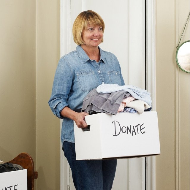 Take inventory of what you have. Make a list of things to keep, donate, and toss. (Photo: The Container Store)