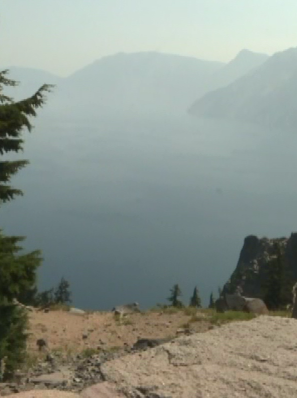 Wildfires And Smoke Affect Crater Lake Tourism Ktvl