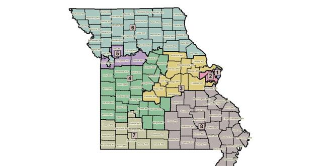 The proposed state-wide redistricting map
