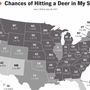 Pennsylvania third in nation for deer collisions