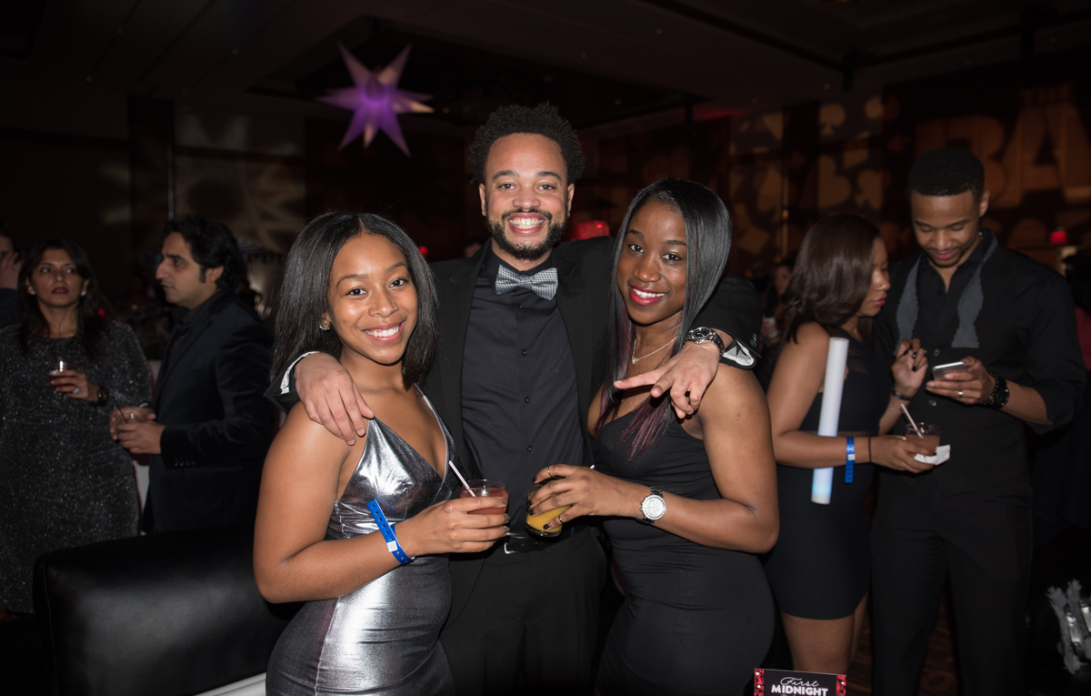 People: Kara Willis, James Marable, and Jaelynne Johnson / Event: First Midnight at Jack Casino (12.31.16) / Image: Sherry Lachelle Photography