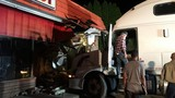 Semi-truck crashes through Centre County convenience store