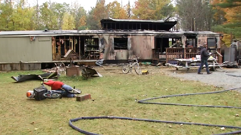 fire leaves a family of eight homeless