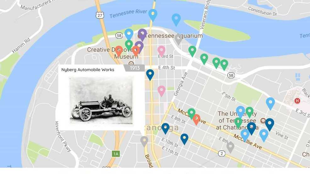 Chattanooga Memory Project website asks for a remembrance of things