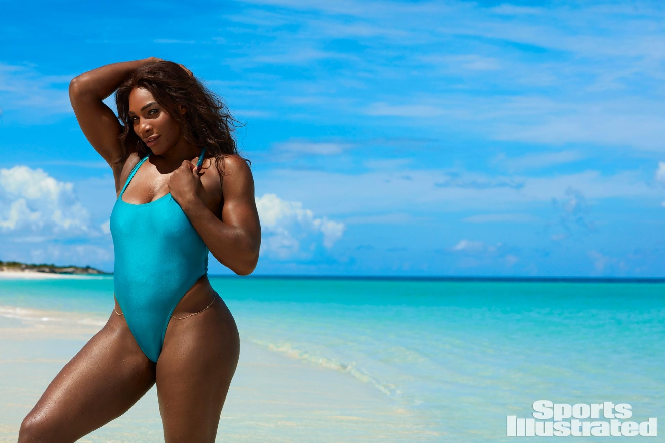 TK Photographer/SPORTS ILLUSTRATED On sale now  SI.com/Swimsuit.  Swimsuit: 2017 Issue: Portrait of Serena Williams during photo shoot. Turks & Caicos Islands 9/16/2016 CREDIT: Emmanuelle Hauguel