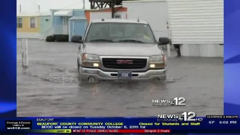 Homes Under Water In Atlantic Beach Wcti