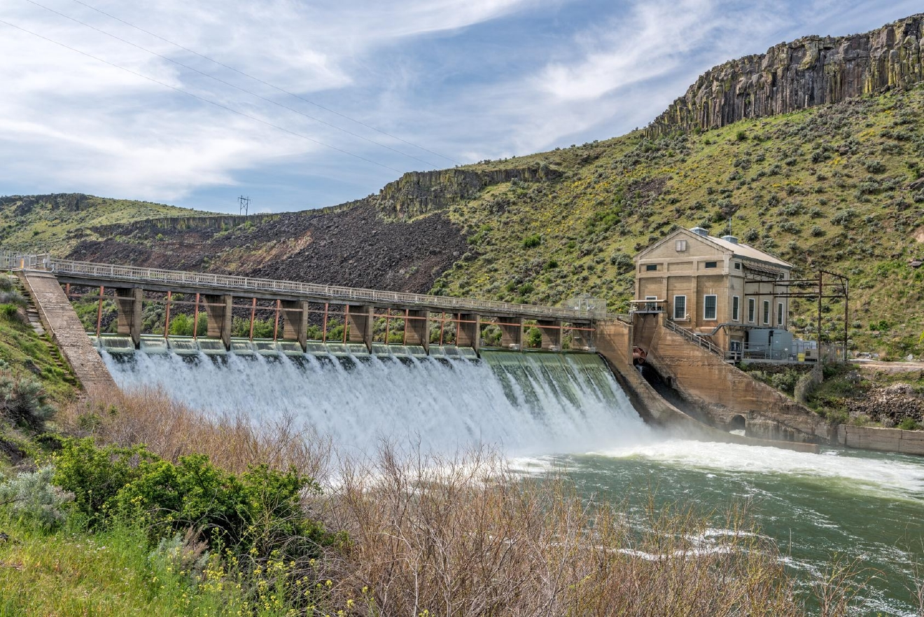 The study would cost $5.5 million and look at different ways of increasing the Treasure Valley water supply, including raising Arrowrock Dam 10 feet, Anderson Ranch Dam 6 feet or the Lucky Peak Dam pool 4 feet. (File Photo)