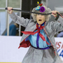 77-year-old left with a silver medal at figure skating championships in North Carolina