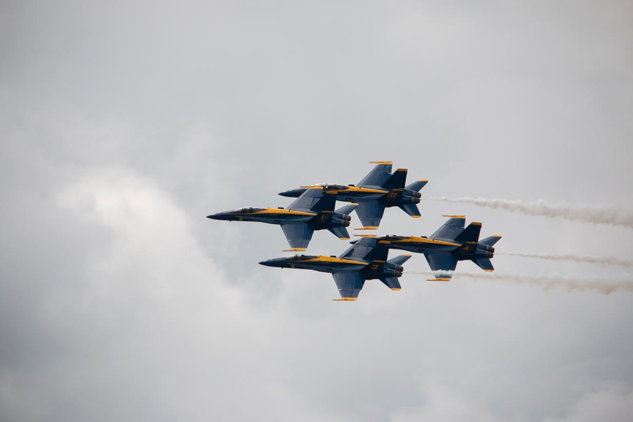 The Dayton Air Show took place June 23-24. The two-day event gave attendees a chance to get up close & personal with aircrafts, pilots, and see stunning aerial performances from the Blue Angels and others. / Image: Dr. Richard Sanders // 6.26.18