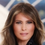White House releases official portrait of First Lady Melania Trump