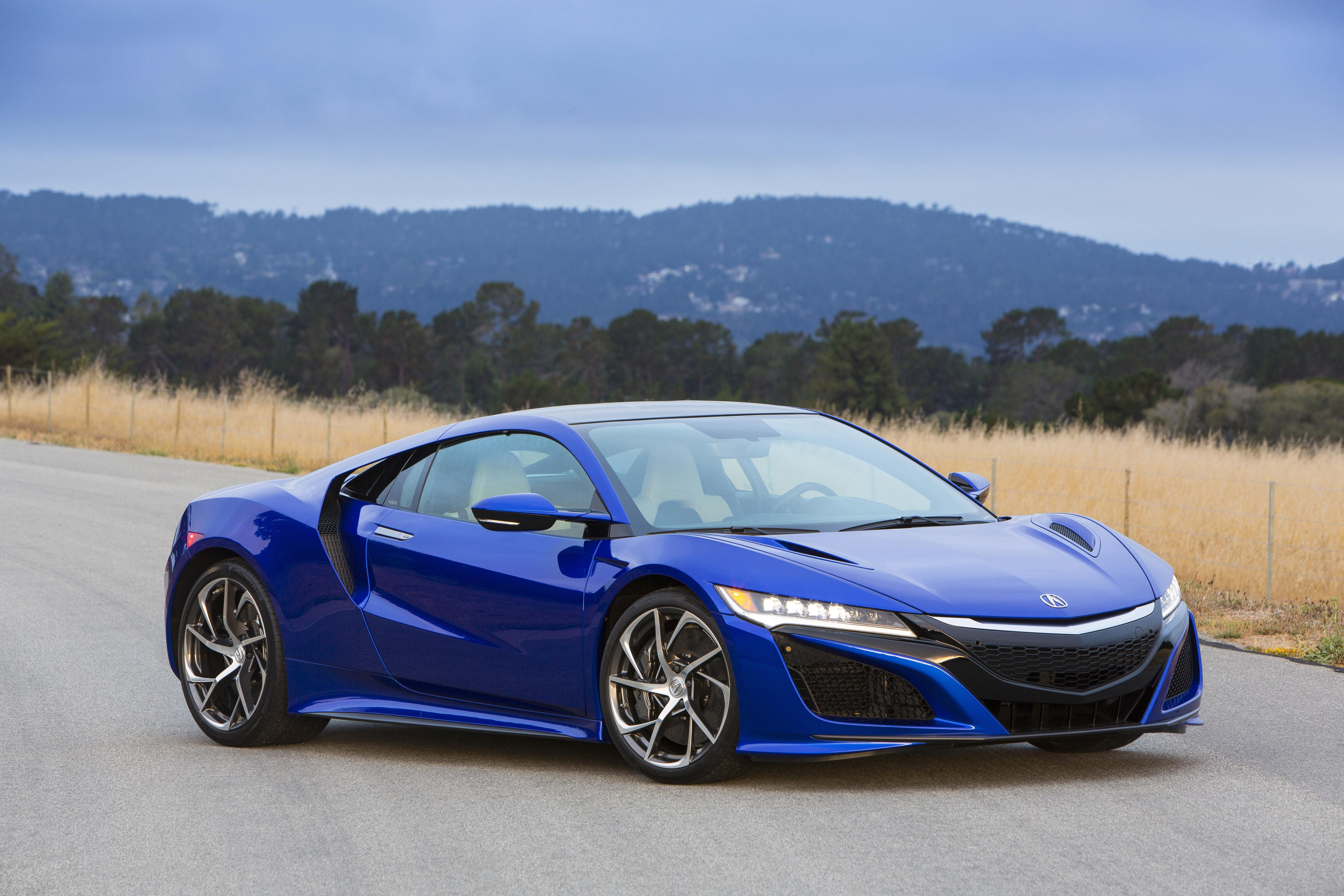 2017 Acura NSX coming with 573 HP, 0-60 MPH time of 3.0 seconds | KMEG